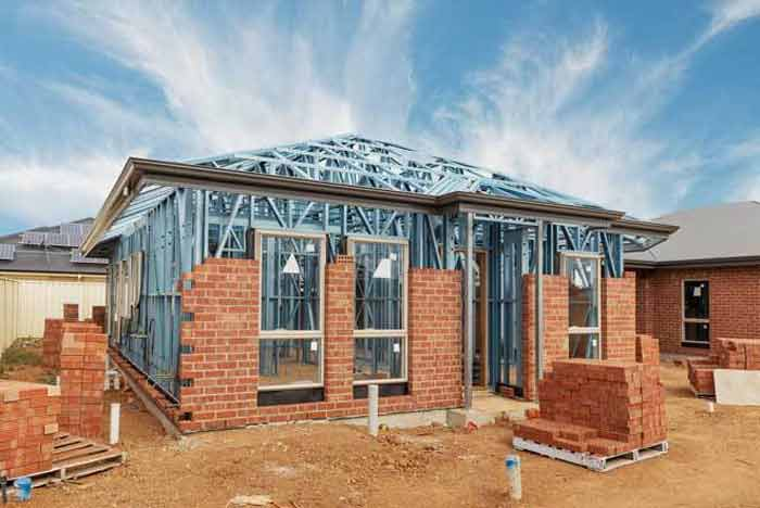 Resistant roof and  wall framing